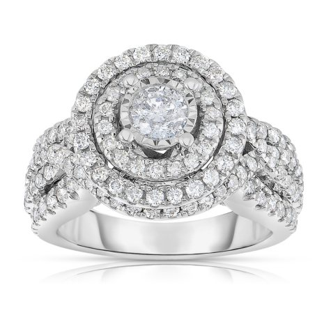 1.95 ct. t.w. Single Center Engagement Ring in 14K White Gold (I, I1)
