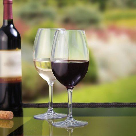 Stemmed Tritan Wine Glasses