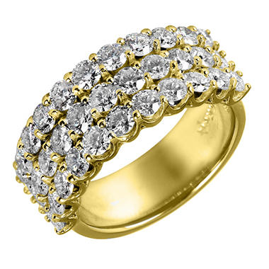 3.0 ct. t.w. Diamond Band in 14K Yellow Gold (I, I1)
