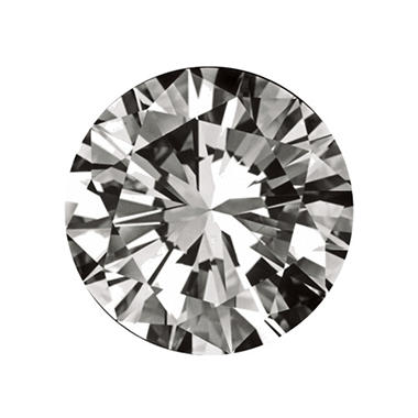 0.72 ct. Round-Cut Loose Diamond (I, VS2)