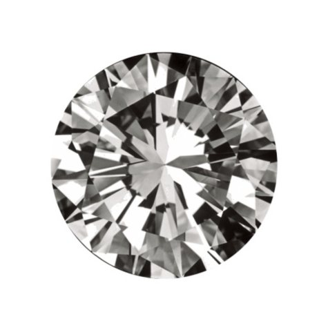 .31 ct. Round-Cut Loose Diamond (F, I1)