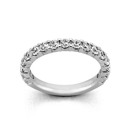 2.00 ct. t.w. 17-Stone Shared Prong Diamond Band in Platinum (H-I, I1)