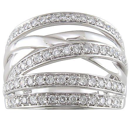 .75 ct. t.w. Diamond Criss-Cross Ring (H-I, I1)