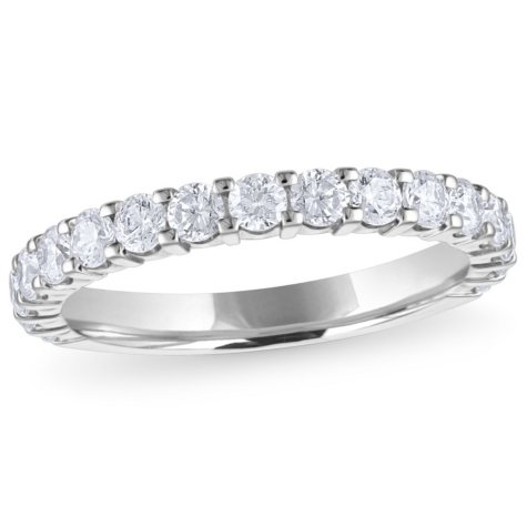 1.00 ct. t.w. 17-Stone Diamond Band in 14K White Gold (H-I, I1)