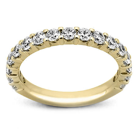 2.00 ct. t.w. 17-Stone Shared Prong Diamond Band in 14K Yellow Gold (H-I, I1)