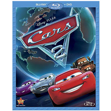 Cars 2 (Blu-ray + DVD Combo)