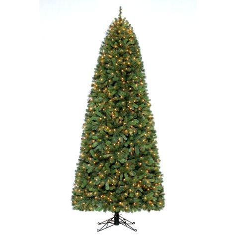9' Gladstone Prelit Christmas Tree