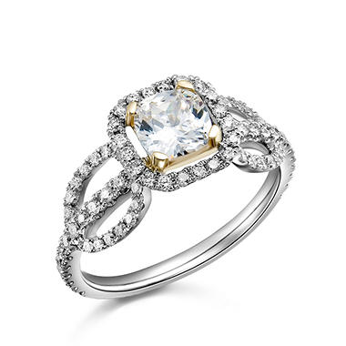 1.50 ct. t.w. Diamond Ring in 14k White Gold (H-I, I1)