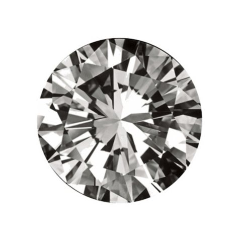 0.3 ct. Round-Cut Loose Diamond  (H, VS2)