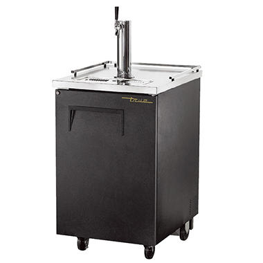 True 1 Keg Direct Draw Beer Dispenser