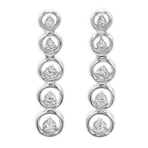 .50 ct. t.w. Diamond Journey Earrings (I, I1)