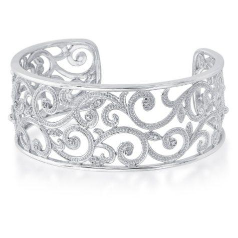 0.10 ct. t.w. Diamond Bracelet in 925 Sterling Silver (I, I1)