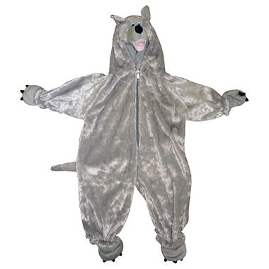 Pretend Play Wolf Toddler Full Body Plush Costume