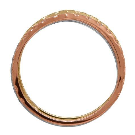 Chevron Stack Ring Set in 14K Gold