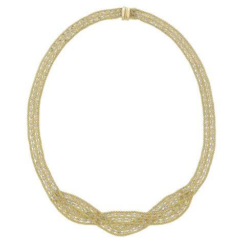 14K Gold Twist Necklace
