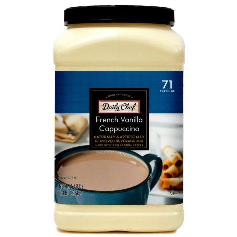 Daily Chef French Vanilla Cappuccino Beverage Mix 2/3lb