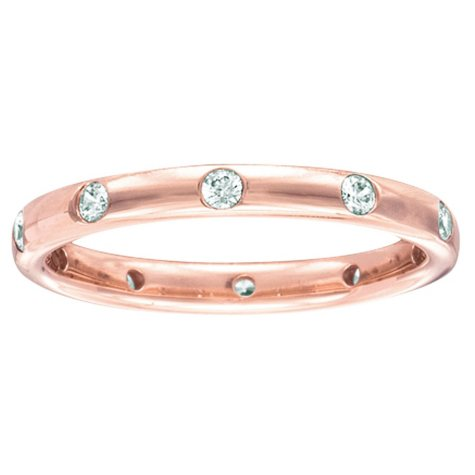 0.23 CT. T.W. Diamond Band in Rose Gold (I, I1)