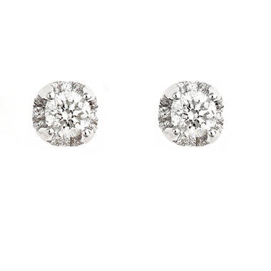 1.0 ct. t.w. Regal Round Diamond Stud Plus Earrings (I, SI2)