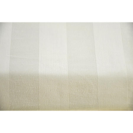 1000TC SHEET SET KING IVORY STRIPE