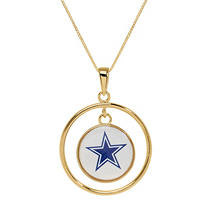 DALLAS COWBOYS 14KY PENDANT