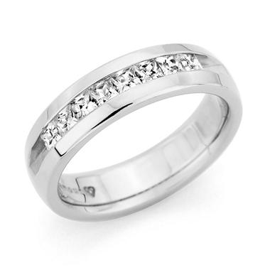 .25 CT. T.W. Men's Diamond Wedding Band (Assorted Colors)