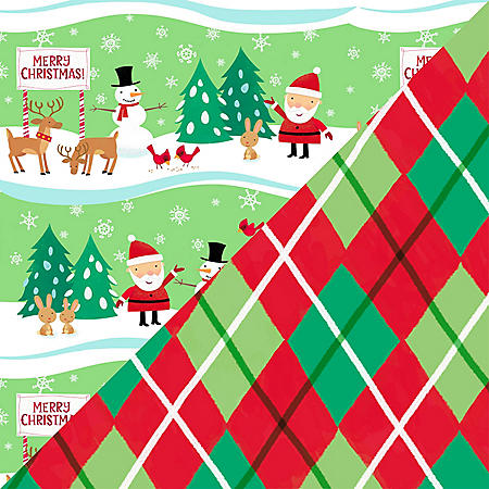 Expressions from Hallmark 400 sq. ft. Reversible Roll Wrap
