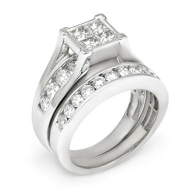 2.00 ct. t.w. Diamond Engagement Set in 14K Gold I, I1