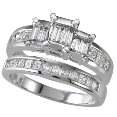 95 ct tw Diamond Engagement Ring Set I I1 Sams Club