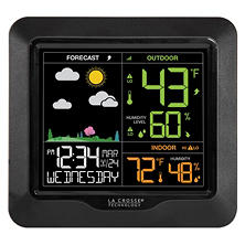 La Crosse Technology Wireless Color Display Weather Forecast Station