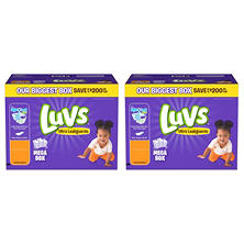 Luvs Ultra Leakguards Pick Diaper Bundle (Choose Your Sizes)