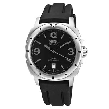 Wenger Swiss Military Expedition Watch - Black and Grey