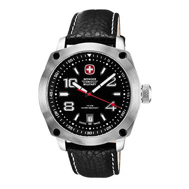 Wenger Swiss Military Outback Watch - Black