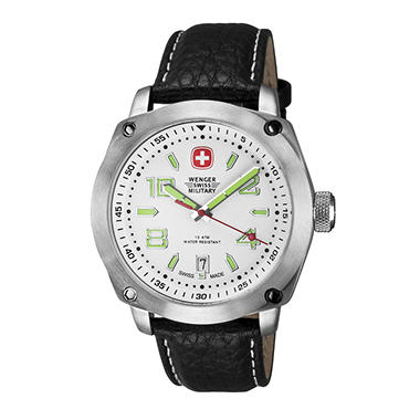 Wenger Swiss Military Outback Watch - Black and White