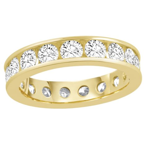 2.00 CT. TW. Round Cut Channel Set Eternity Band (G-H, SI)