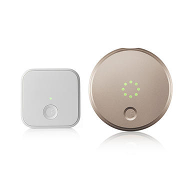 August Smart Lock with Connect 2nd Generation - Choose Color