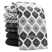 Cuisinart Kitchen Towels, 8 Pack (Assorted Colors)