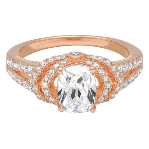 1.50 CT. T.W. Diamond Engagement Ring in 14K Rose Gold