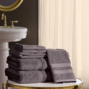 Hotel Premier Collection 6 Piece Bath Towel Set By Memberu0027s Mark (Assorted  Colors)