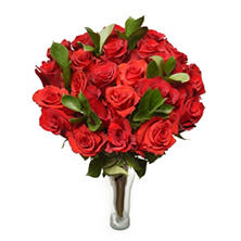 Ruby My Love Bouquet (24 Red Roses)