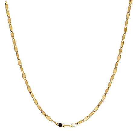 Valentino Link Chain in 14K Yellow Gold