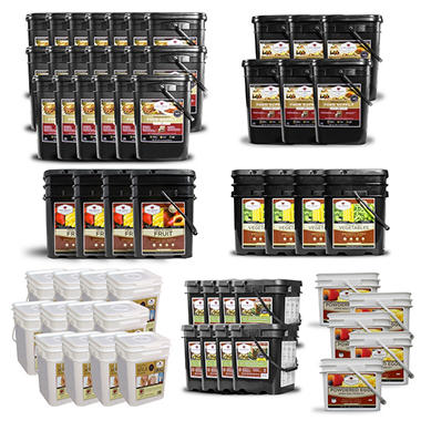 Wise Supreme Gourmet 1 Year Food Supply for 4 Adults (7184 Servings)