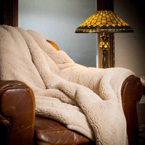 Member's Mark Oversized Cozy Throw - Various Colors