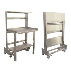 """Prairie View Mobile, Roll-Away, Retractable, Prep Station - 36"""" or 48"""""""