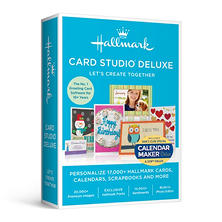 Hallmark Card Studio Deluxe with Calendar Maker