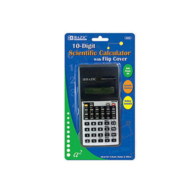 Bazic 10-Digit Scientific Calculator - 48 pk.