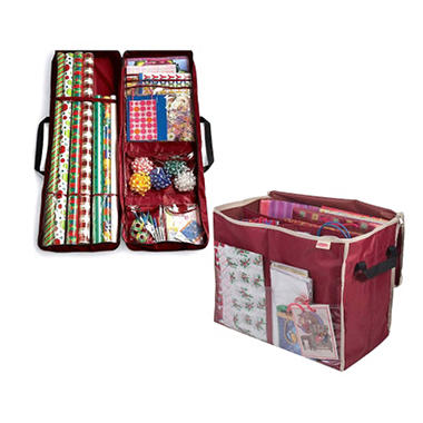 Gift Bag Crate Gift Wrap Organizer Sam S Club