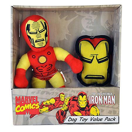 Marvel Dog Toys Value Pack - Iron Man - 2 pc.