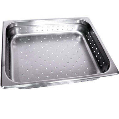 Steam Table Perferated Half Size Pan - 2 pk.
