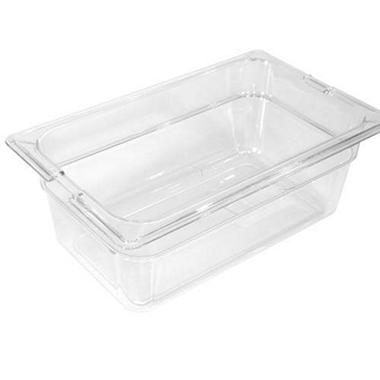 Clear Top Notch™ Insert Pan Third Size - 6 pk. - Various Depths