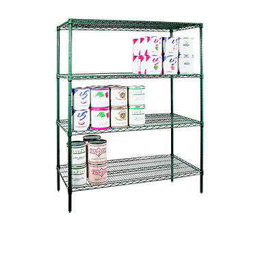 Shelving Set Green Epoxy - 72